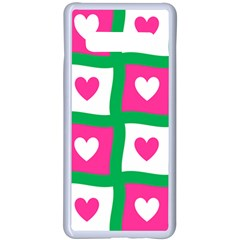 Pink Love Valentine Samsung Galaxy S10 Plus Seamless Case(white)