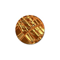 Gold Background Form Color Golf Ball Marker (10 Pack) by Alisyart