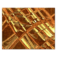 Gold Background Form Color Rectangular Jigsaw Puzzl by Alisyart
