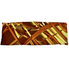 Gold Background Form Color Body Pillow Case (dakimakura)