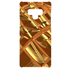 Gold Background Form Color Samsung Note 9 Black Uv Print Case