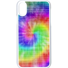 Watercolor Painted Iphone X Seamless Case (white)