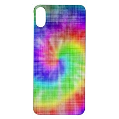 Watercolor Painted Iphone X/xs Soft Bumper Uv Case