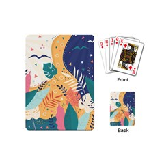 Tropical Pattern Playing Cards Single Design (mini)