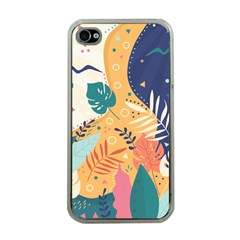 Tropical Pattern Iphone 4 Case (clear)