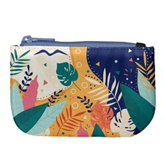 Tropical Pattern Large Coin Purse