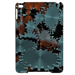 Gear Gears Technology Transmission Apple Ipad Mini 4 Black Uv Print Case by Simbadda