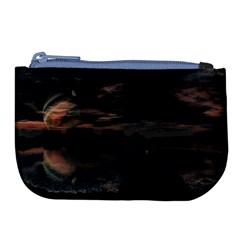 Landscape Planet Sky Lake Large Coin Purse by Simbadda