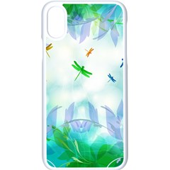 Scrapbooking Tropical Pattern Iphone Xs Seamless Case (white)