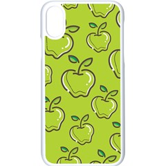 Fruit Apple Green Iphone X Seamless Case (white) by HermanTelo