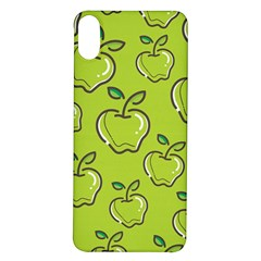 Fruit Apple Green Iphone X/xs Soft Bumper Uv Case