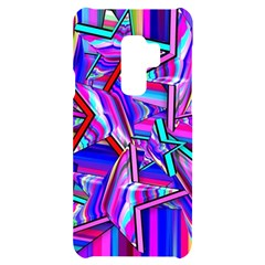 Stars Beveled 3d Abstract Samsung S9 Plus Black Uv Print Case
