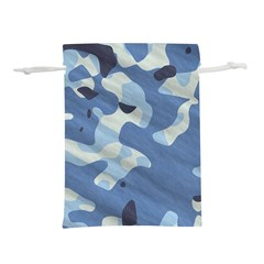 Tarn Blue Pattern Camouflage Lightweight Drawstring Pouch (s)
