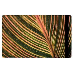 Leaf Patten Lines Colorful Plant Apple Ipad Mini 4 Flip Case by Simbadda