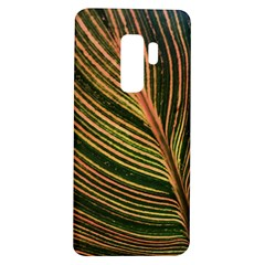 Leaf Patten Lines Colorful Plant Samsung Galaxy S9 Plus Tpu Uv Case