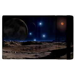 Lunar Landscape Star Brown Dwarf Apple Ipad Pro 12 9   Flip Case by Simbadda
