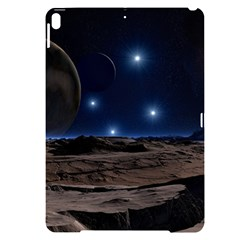 Lunar Landscape Star Brown Dwarf Apple Ipad Pro 10 5   Black Uv Print Case by Simbadda