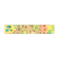 Flowers Color Colorful Watercolour Flano Scarf (mini) by Simbadda