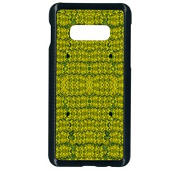 Flowers In Yellow For Love Of The Decorative Samsung Galaxy S10e Seamless Case (black)
