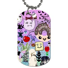 The Real World Dog Tag (one Side) by snowwhitegirl