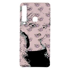 Wide Eyed Girl Pink Samsung Galaxy A9 Tpu Uv Case