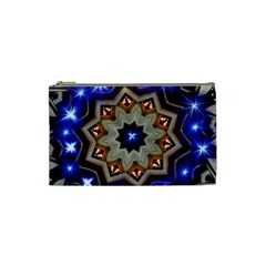Background Mandala Star Cosmetic Bag (small) by Mariart