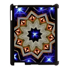 Background Mandala Star Apple Ipad 3/4 Case (black) by Mariart