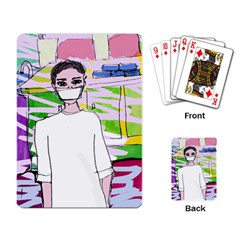 Nurse Playing Cards Single Design (rectangle)