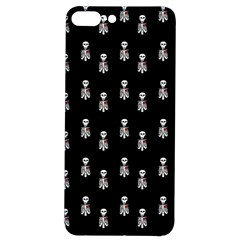 Heart Skeleton Pattern Iphone 7/8 Plus Soft Bumper Uv Case by snowwhitegirl