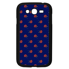 Red Rose Blue Samsung Galaxy Grand Duos I9082 Case (black)