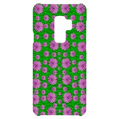 Bloom In Peace And Love Samsung S9 Plus Black Uv Print Case