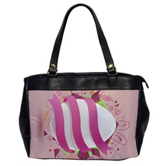 Easter Egg Colorful Spring Color Oversize Office Handbag by Simbadda