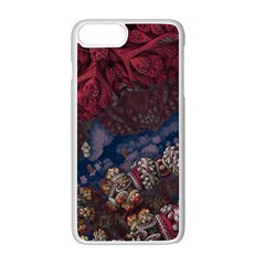 Fractals 3d Graphics Designs Iphone 7 Plus Seamless Case (white)