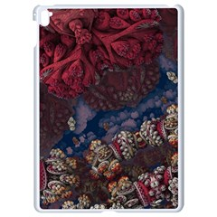 Fractals 3d Graphics Designs Apple Ipad Pro 9 7   White Seamless Case by Simbadda