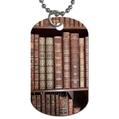 Library Books Knowledge Dog Tag (two Sides)