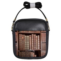 Library Books Knowledge Girls Sling Bag