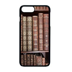 Library Books Knowledge Iphone 8 Plus Seamless Case (black)