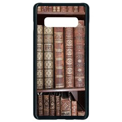 Library Books Knowledge Samsung Galaxy S10 Plus Seamless Case (black)