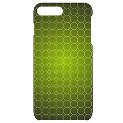 Hexagon Background Plaid Iphone 7/8 Plus Black Uv Print Case