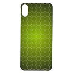 Hexagon Background Plaid Iphone X/xs Soft Bumper Uv Case