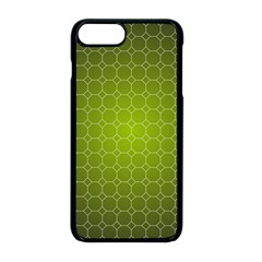 Hexagon Background Plaid Iphone 8 Plus Seamless Case (black)