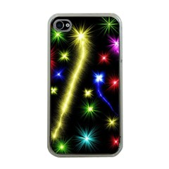 Fireworks Star Light Iphone 4 Case (clear)