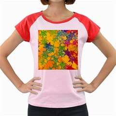 Star Homepage Abstract Women s Cap Sleeve T Shirt