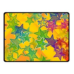 Star Homepage Abstract Double Sided Fleece Blanket (small)