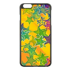 Star Homepage Abstract Iphone 6 Plus/6s Plus Black Enamel Case