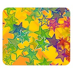 Star Homepage Abstract Double Sided Flano Blanket (small)