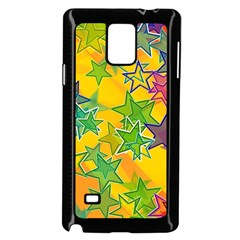Star Homepage Abstract Samsung Galaxy Note 4 Case (black)
