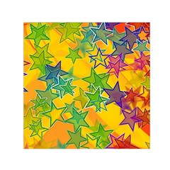Star Homepage Abstract Small Satin Scarf (square)