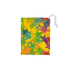 Star Homepage Abstract Drawstring Pouch (xs)