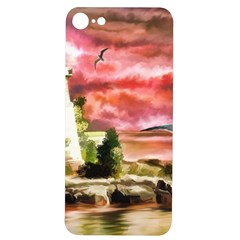 Lighthouse Ocean Sunset Seagulls Iphone 7/8 Soft Bumper Uv Case by Sudhe